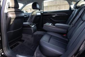 Audi A8 LWB Interior