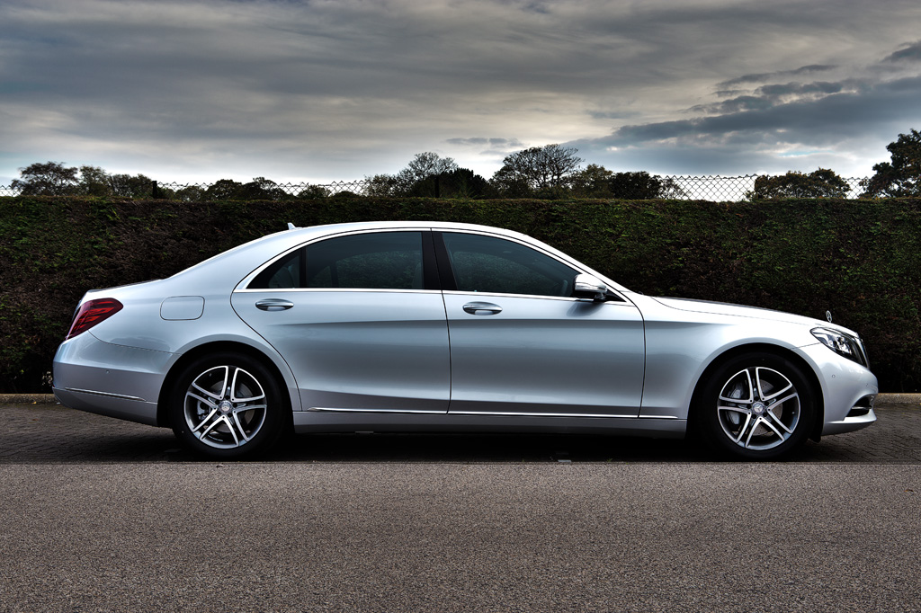 Mercedes-Benz S Class Side On