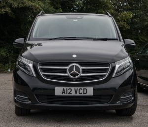 Photo of the front of the V Class