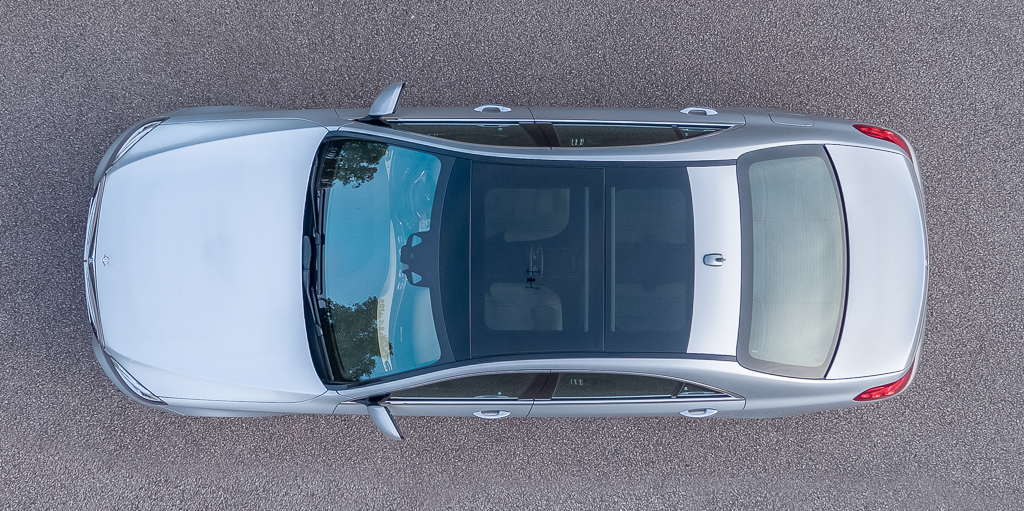 Mercedes-Benz S Class Panoramic Roof