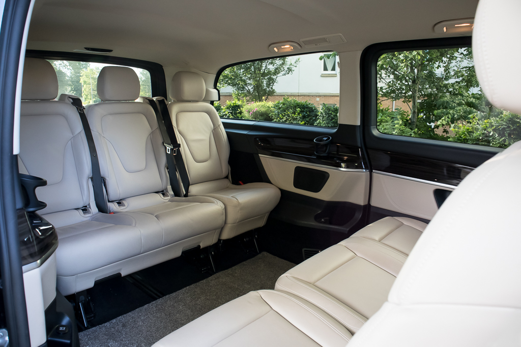 Mercedes V Class Rear Cabin